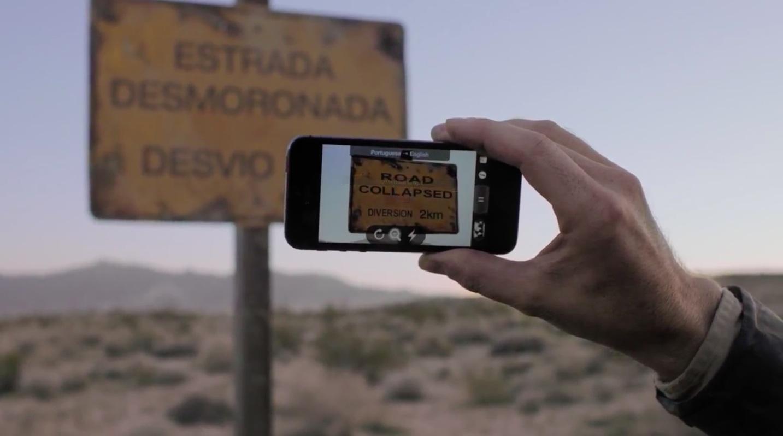 iPhone-5s-ad-Powerful-Word-Lens-app