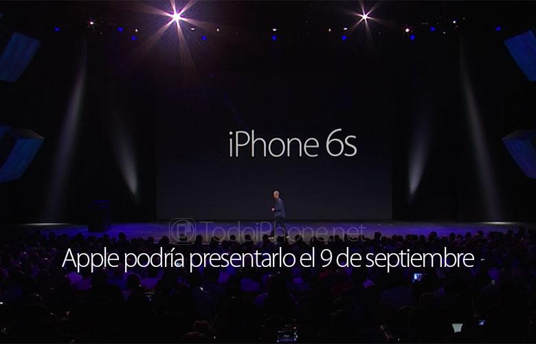 apple-podria-presentar-iphone-6s-9-septiembre