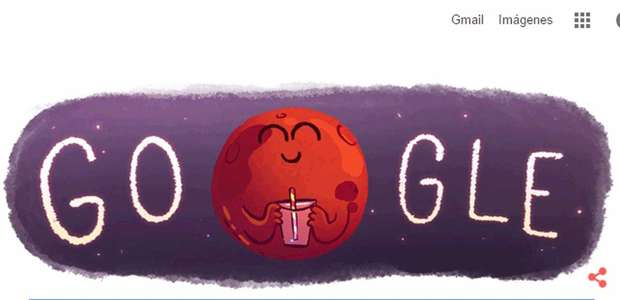 Google celebra el descubrimiento de agua en marte