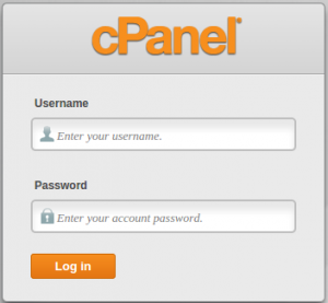 C panel es un administrador de nuestro hosting, el panel de control del sitio en donde puedes hacer cambios a tu cuenta