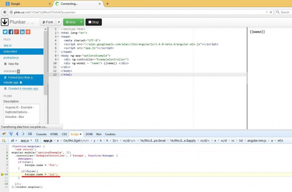 Debugger de Firefox y Chrome