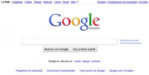 Google propiedad de Alphabet Inc, es el buscador en la web más utilizado.