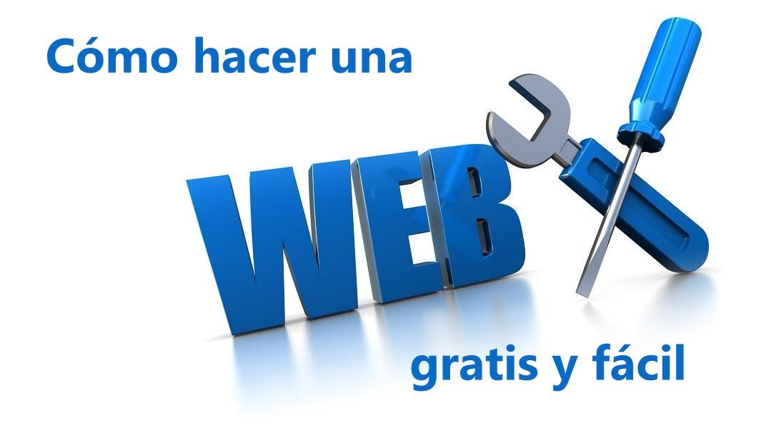 como crear una pagina web gratis | crear página web