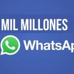 Whatsapp alcanza los mil millones