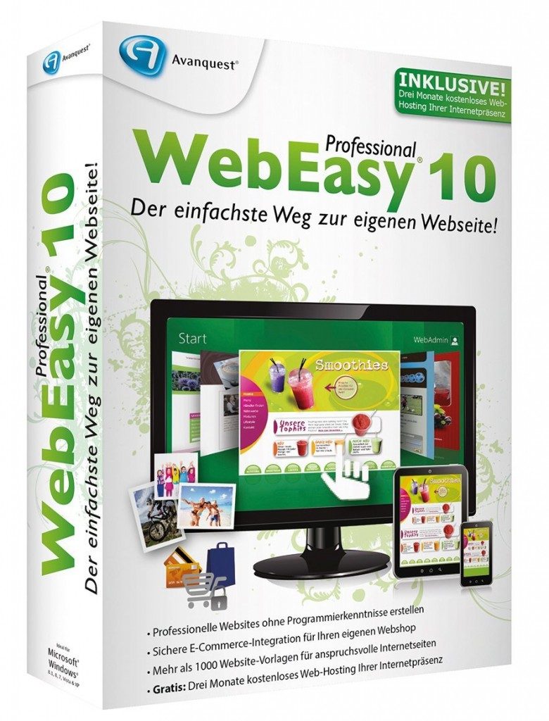 Avanquest WebEasy Professional