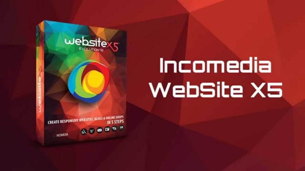 WebSite X5 Evolution para paginas web