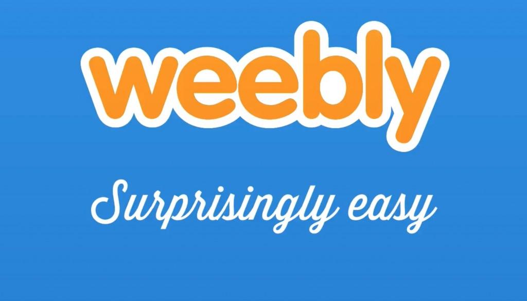 Weebly Crear paginas web facil