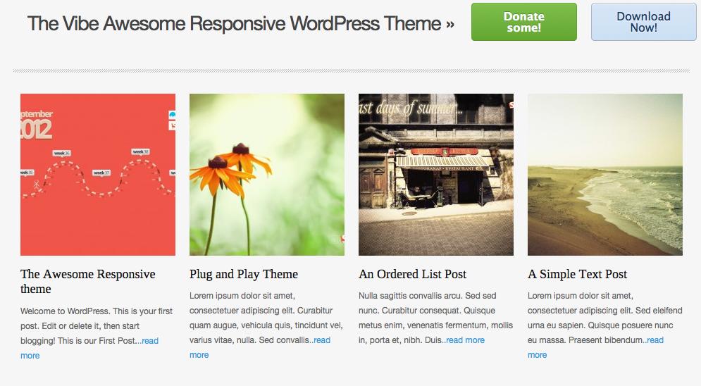 Las Mejores Plantillas Web Gratis para Wordpress 2017