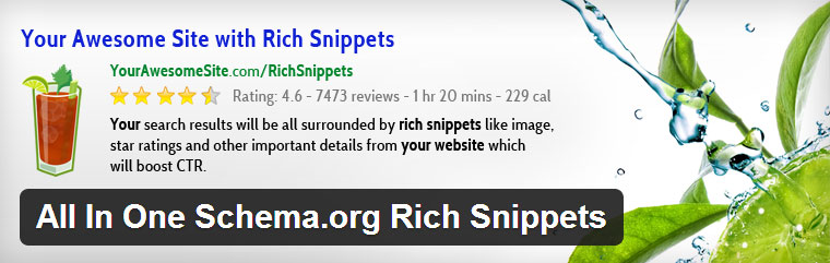 All in One Schema.org Rich Snippets