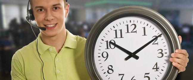 horario de soporte tecnico del host