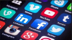 redes sociales en el software