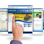 Finger Pointing at Internet Websites