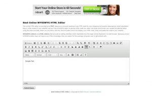 Best-Online-WYSIWYG-HTML-Editor