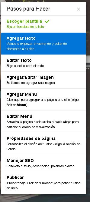 pagina web sin saber de programación