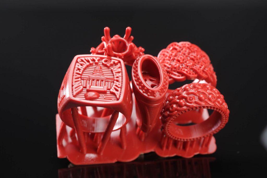 Impresión 3d resina